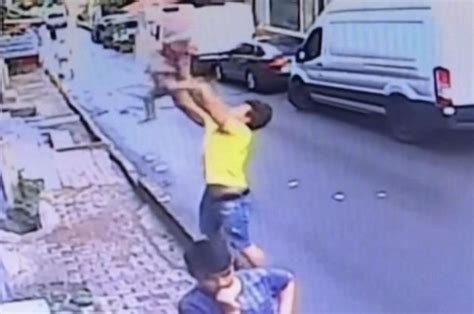 VIRAL VIDEO: Teen Caught Toddler Falling From 2nd Story Window