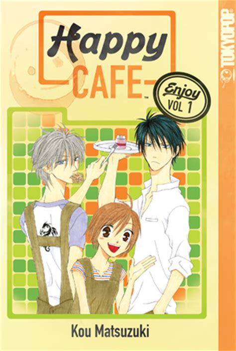 Happy Cafe: Light hearted story about yet another dense