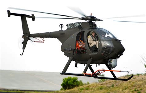 production AH-6i Light Armed Scout Helicopter makes first