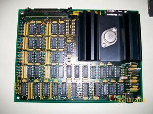 VARIAN PCB PULSED LIGHT CURTAIN RECEIVER MONITOR, E1500059