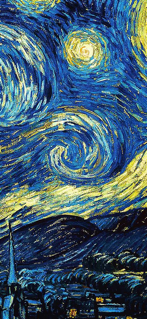 ar55-vicent-van-gogh-starry-night-art-classic-wallpaper